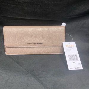 Michael Kors Flat Wallet (cinder)